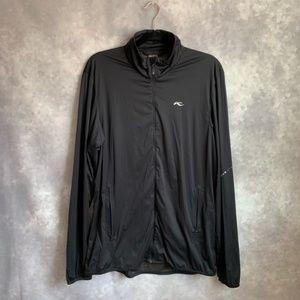 Kjus Black Lightweight Golf Athletic Jacket XL